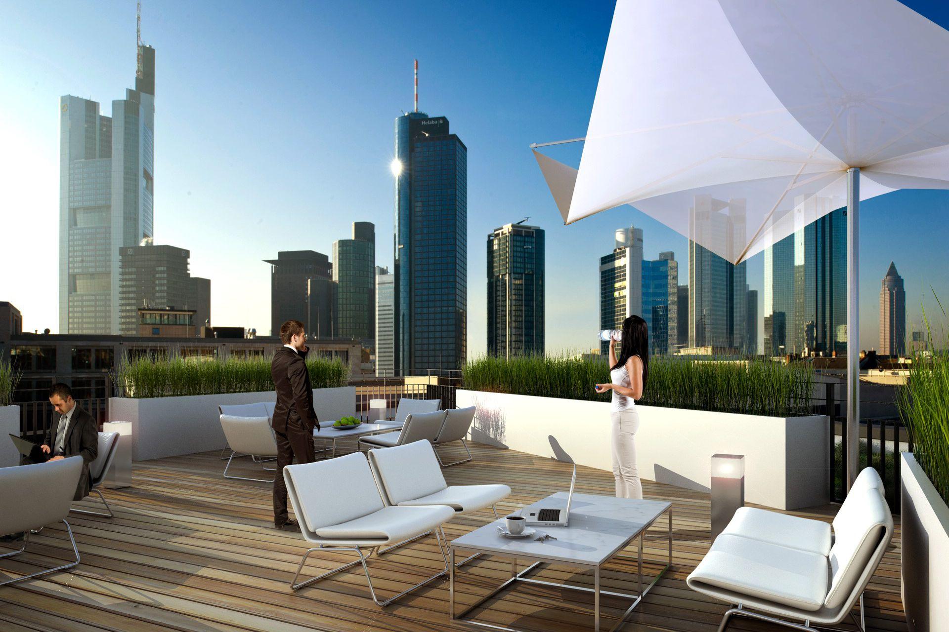 3d Visualisierung Frankfurt bürogebäude börsentor boersentor frankfurt buerogebaeude