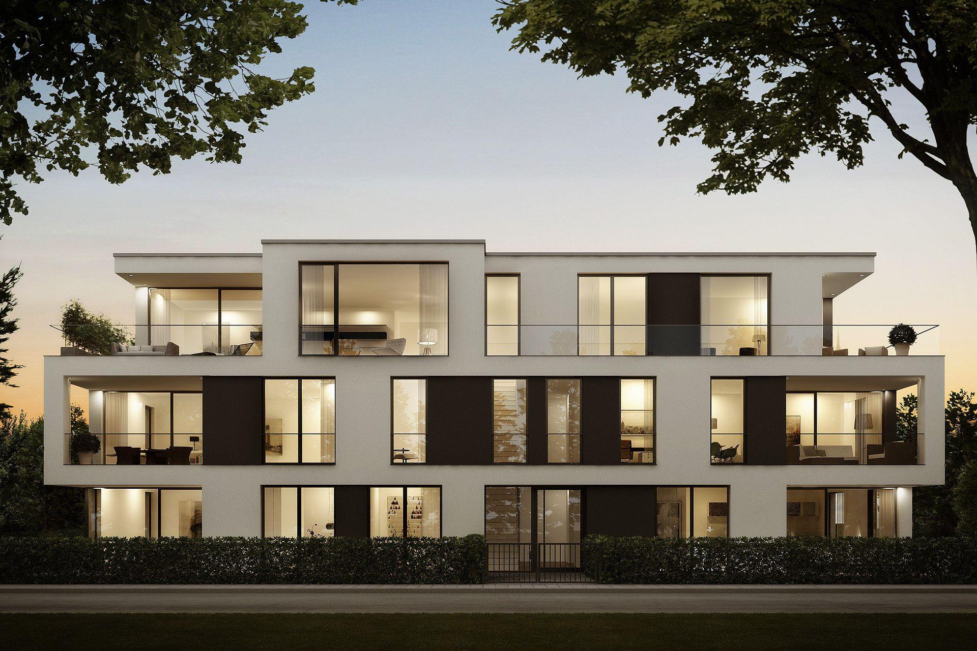 3d Visualisierung München wohnhaus pachmayrplatz münchen pachmyrplatz villa konzept3d 3d